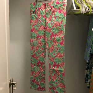 Lilly Pulitzer printed jeans